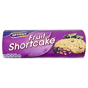 McVITIE'S FRUIT SHORTCAKE BISCUITS (200g) x 12