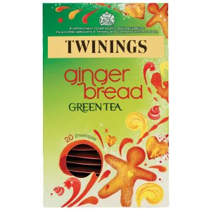 TWININGS GINGER BREAD GREEN TEA (20 bags)