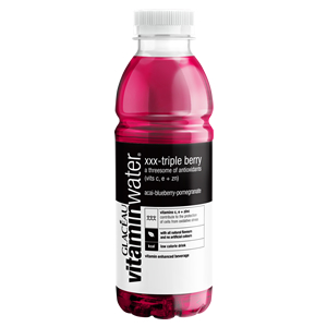 GLACEAU VITAMINWATER - XXX TRIPLE BERRY