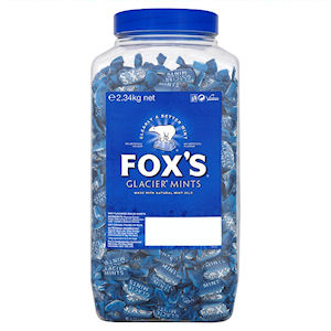 FOX'S GLACIER MINTS TUB (2.34kg)