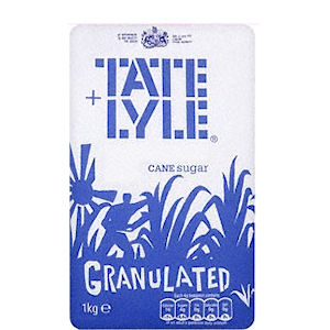 TATE & LYLE WHITE GRANULATED SUGAR (1kg) x 15
