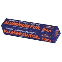 HEAVY DUTY ALUMINIUM CATERING FOIL (24in x 245ft)