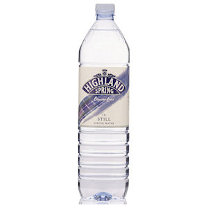 HIGHLAND SPRING WATER STILL - PLASTIC BOTTLES (1.5L) x 12