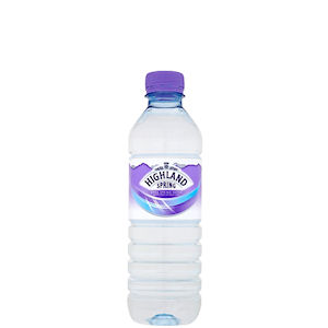 HIGHLAND SPRING WATER STILL - PLASTIC BOTTLES (500ml) x 24