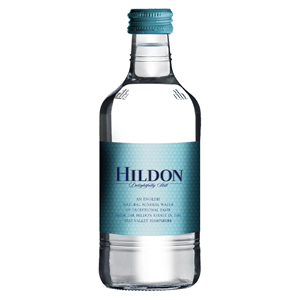 HILDON MINERAL WATER STILL - CLEAR GLASS BOTTLES (330ml) x 24