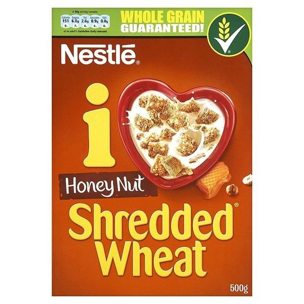NESTLÉ HONEY NUT SHREDDED WHEAT (500g) x 9