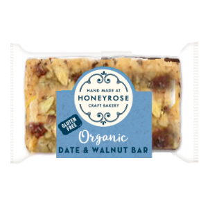HONEY ROSE MINI ORGANIC DATE & WALNUT BAR (25g) x 60