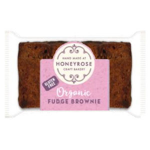 HONEY ROSE MINI ORGANIC FUDGE BROWNIE (25g) x 60