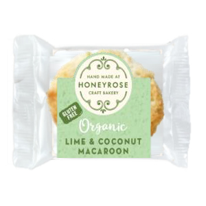 HONEY ROSE MINI ORGANIC LIME & COCONUT MACAROON (23g) x 32