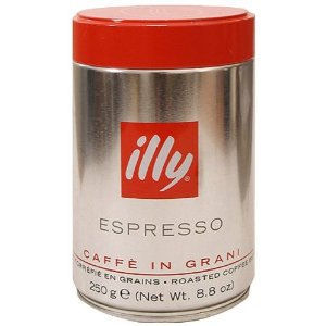 ILLY 100% ARABICA ESPRESSO COFFEE BEANS TIN (250g)