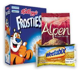 Individual Portion Cereals