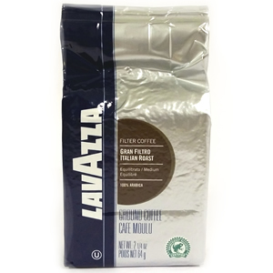LAVAZZA ITALIAN ROAST FILTER COFFEE (64g) x 30