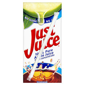 JUST JUICE PURE APPLE JUICE (200ml) x 24
