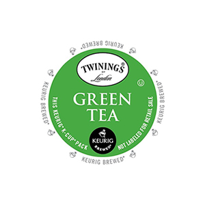 KEURIG K-CUP TWININGS GREEN TEA - CASE OF 96 PODS (PACKED AS 4 BOXES OF 24 INDIVIDUAL PODS)