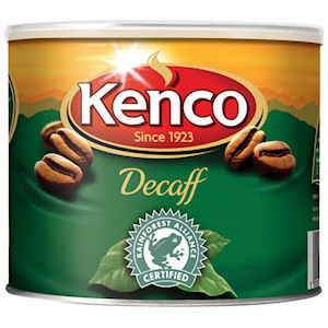 KENCO DECAFFEINATED INSTANT COFFEE TIN (500g)