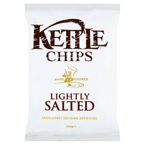 KETTLE CHIPS LIGHTLY SALTED (150g) x 12