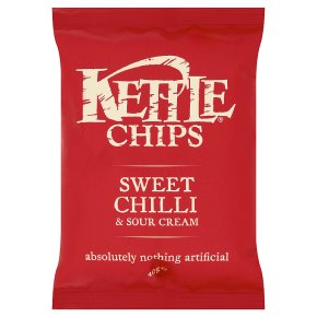 KETTLE CHIPS SWEET CHILLI (40g) x 18