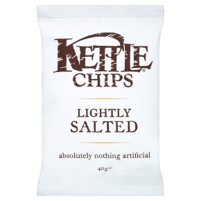 KETTLE CHIPS LIGHTLY SALTED (40g) x 18