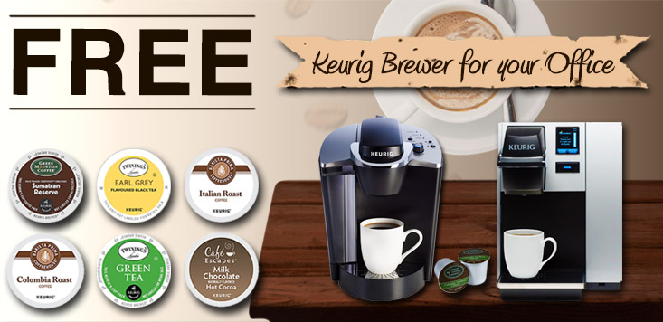 Free Keurig® Coffee Machine for your Office