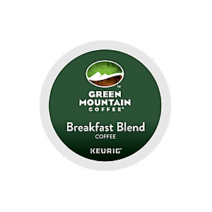 KEURIG K-CUP GREEN MOUNTAIN COFFEE BREAKFAST BLEND - CASE OF 96 PODS (PACKED AS 4 BOXES OF 24 INDIVIDUAL PODS)