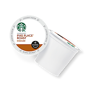 KEURIG K-CUP STARBUCKS PIKE PLACE ROAST MEDIUM x 96