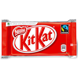 NESTLÉ KIT KAT 4 FINGER MILK CHOCOLATE (45g) x 48