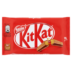 NESTLÉ KIT KAT 4 FINGER MILK CHOCOLATE (45g) x 24