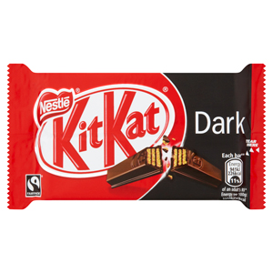 NESTLÉ KIT KAT 4 FINGER 70% DARK CHOCOLATE (45g) x 24