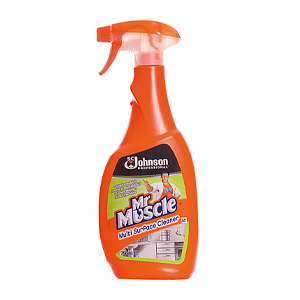 MR MUSCLE MULTI SURFACE CLEANER SPRAY (750ml) x 6