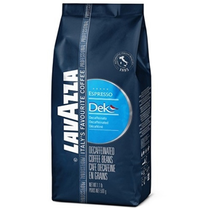 LAVAZZA DEK COFFEE BEANS DECAF (500g) x 12