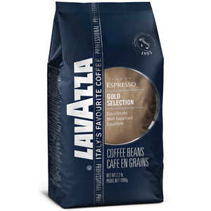 LAVAZZA GOLD SELECTION COFFEE BEANS (1kg) x 6