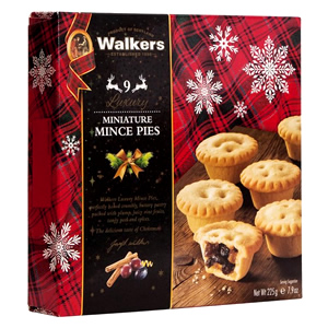WALKERS LUXURY MINIATURE MINCE PIES (9 pack)