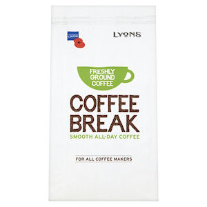 LYONS COFFEE BREAK FILTER AND CAFETIÈRE COFFEE (227g) x 6