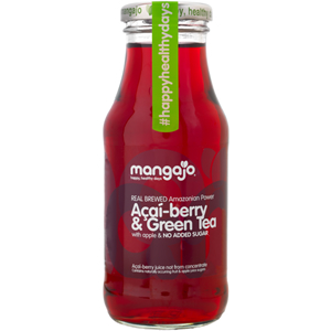 MANGAJO ACAI BERRY & GREEN TEA (250ml) x 12