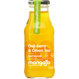 MANGAJO GOJI BERRY & GREEN TEA (250ml) x 12