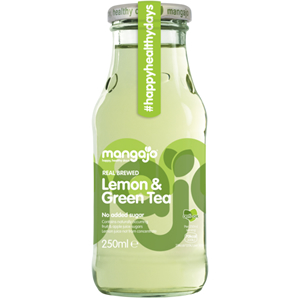 MANGAJO LEMON & GREEN TEA (250ml) x 12