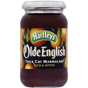 HARTLEY'S OLDE ENGLISH THICK CUT MARMALADE JARS (454g) x 6