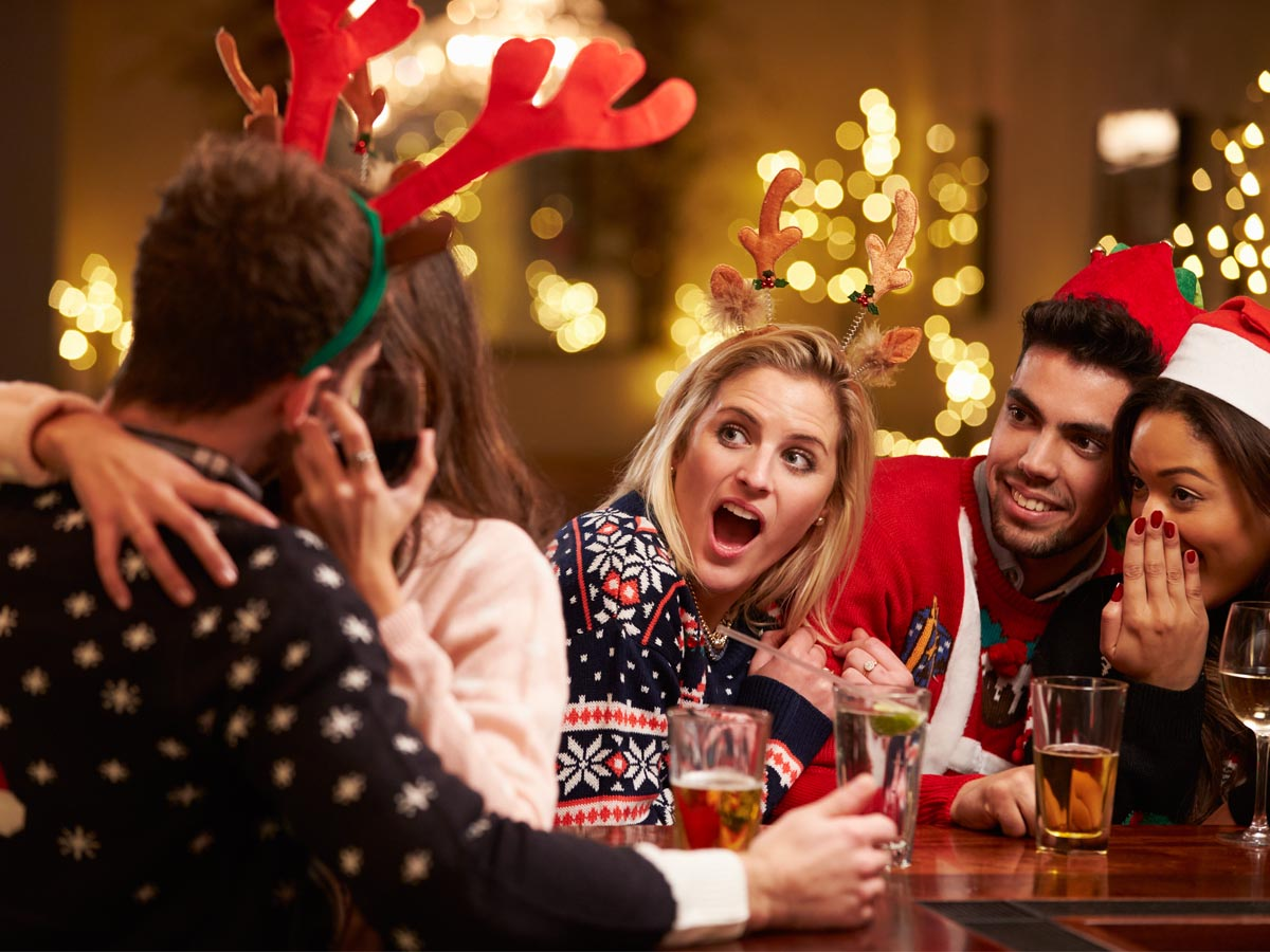 Mind the mistletoe on your Office Christmas Party