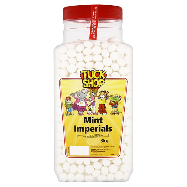 TUCK SHOP MINT IMPERIALS TUB UNWRAPPED (3kg)
