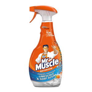 MR MUSCLE BATHROOM CLEANER (500ml) x 12