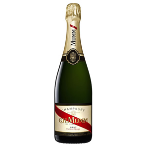 G.H. MUMM CORDON ROUGE BRUT CHAMPAGNE SINGLE (70cl)