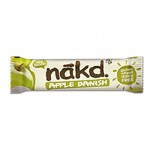 NAKD BAR APPLE DANISH (35g) x 18