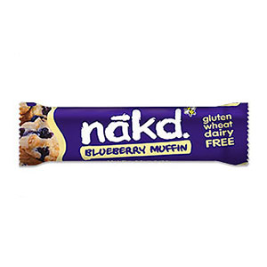 NAKD BAR BLUEBERRY MUFFIN (35g) x 18