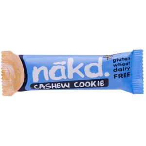 NAKD CASHEW COOKIE BARS (35g) x 18