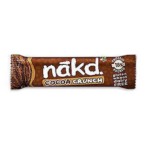 NAKD BAR COCOA CRUNCH (35g) x 18