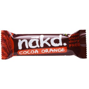 NAKD COCOA ORANGE BARS (35g) x 18