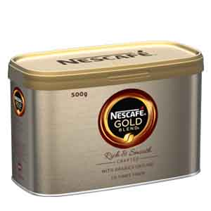 NESCAFÉ GOLD BLEND INSTANT COFFEE TIN (500g)