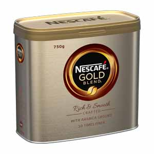 NESCAFÉ GOLD BLEND INSTANT COFFEE TIN (750g)