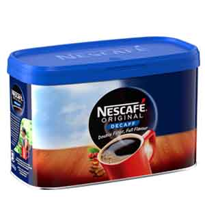 NESCAFÉ ORIGINAL DECAFFEINATED INSTANT COFFEE TIN (500g)