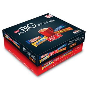 NESTLÉ BIG BISCUIT BARS BOX (70 biscuits)